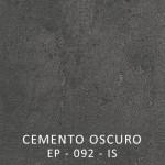 ENCIMERA CEMENTO OSCURO G.38 ( NO STOCK)
