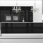 cocina luxe negra elegancia