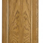 puerta madera letur arco roble + glaseado
