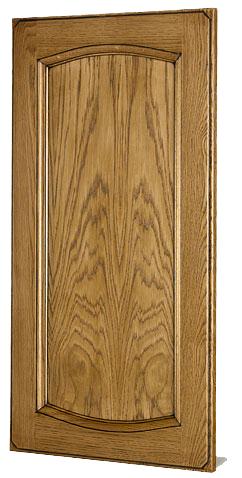 puerta roble glaseada mod. letur arco