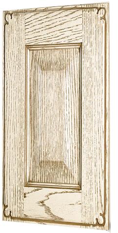 puerta roble mod. jardin blanco patinado